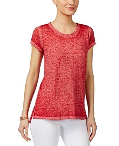 INC International Concepts Melange T-Shirt (Glazed Berry, L) from INC International Concepts