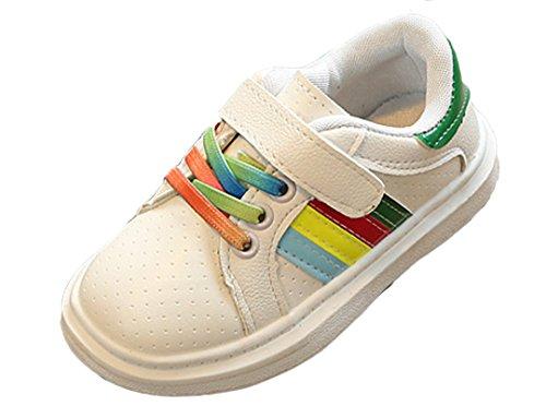 Green Stripe Sneakers - 5