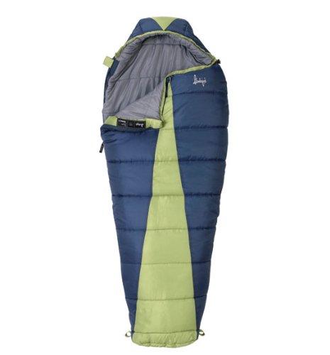 Slumberjack Latitude 20 Degree Women's Synthetic Sleeping Bag, Outdoor Stuffs