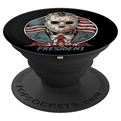 Jason Mask Gifts Halloween Jason President Gifts - PopSockets Grip and Stand for Phones and Tablets
