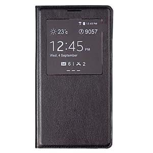 HC- Caso de cuero protector de la PU de la cubierta del tirón con una función de carga inalámbrica y Auto-Sleep Chipset para Samsung Galaxy Note 3