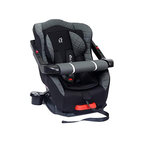 1st Step ECE R44/04 Safety Certified Car Seat for Kids of 2 to 5 Years Age with 3 Recline Position, 5 Point Safety