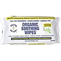 Doctor Butler's Hemorrhoid Soothing Wipes USDA Certified Organic & All Natural (60 Count)