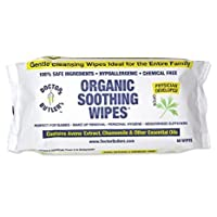Dr Butler's Organic Soothing Wipes – All Natural, Hypo-Allergenic Hemorrhoid Treatment...