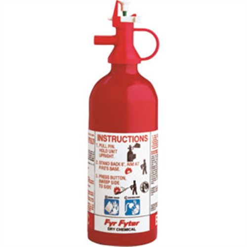RV Fire Extinguisher Disposable 2 B