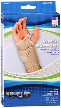 Sport Aid Wrist Support - Small Right - 1 ea., Pack of 5 by SportAid