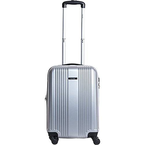 calpak-torrino-ii-20-lightweight-expandable-hardside-carry-on-silver