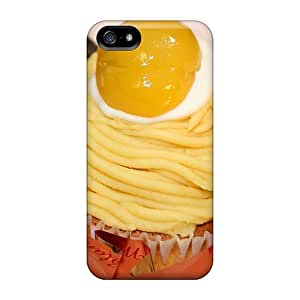 High Quality Shock Absorbing Case For Iphone 5/5s-mont Blanc Cake