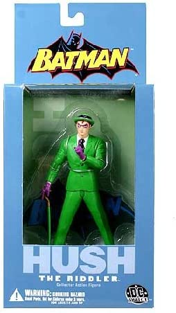 Amazon Com Batman Hush Series 2 The Riddler Action Figure Short Packed Toys Games