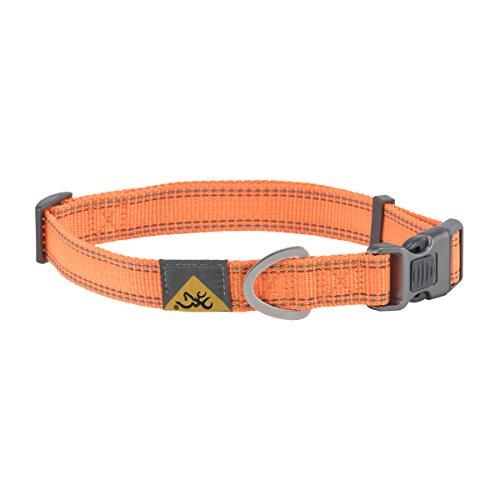 Collar Hunting Dog Collar, Classic Webbing, Safety Orange, Large ()