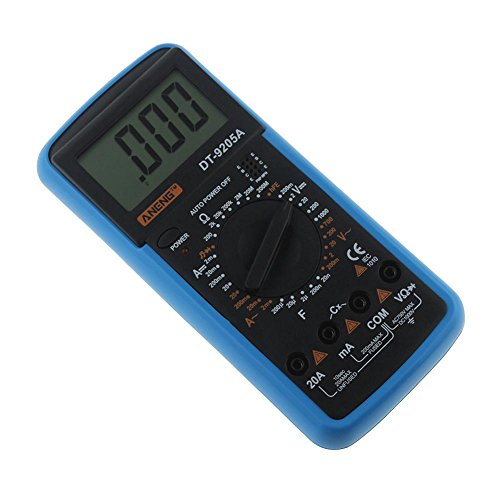 Digital Multimeter DT-9205A AC DC LCD Display Professional Electric Handheld Tester Meter Multimetro Ammeter Multitester by UEB (Image #6)