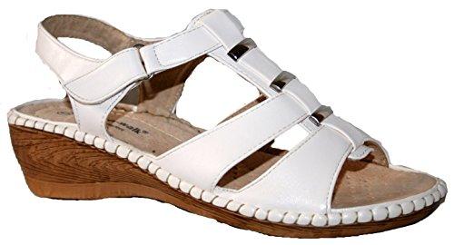 Cushion Walk - Sandalias de vestir de Material Sintético para mujer blanco