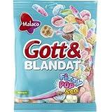 Malaco ゴットブランダット フィジー ポップ味 Gummy 130g x 1個 フィンランドのお菓子です [並行輸入品]