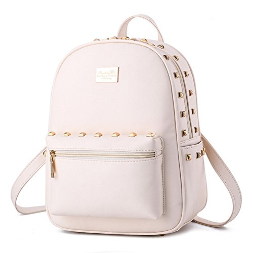 All White Backpack - 8