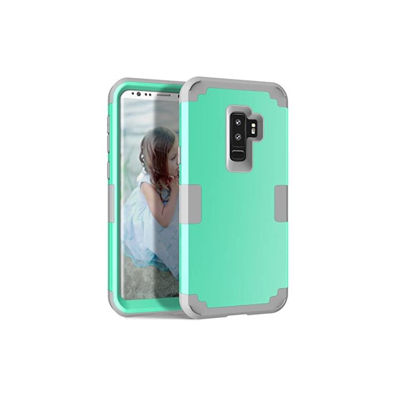 Galaxy S9 Plus Case, KAMII 3in1 [Shockpr