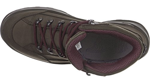 Lowa Renegade GTX Mid Ws Dunkelgrau Navy marrón violeta