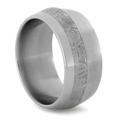 teorite 10mm Comfort-Fit Matte Titanium Band, Size 5.5 ()