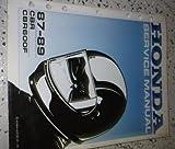 1987 1988 1989 Honda CBR CBR600F Service Shop Repair Manual FACTORY OEM