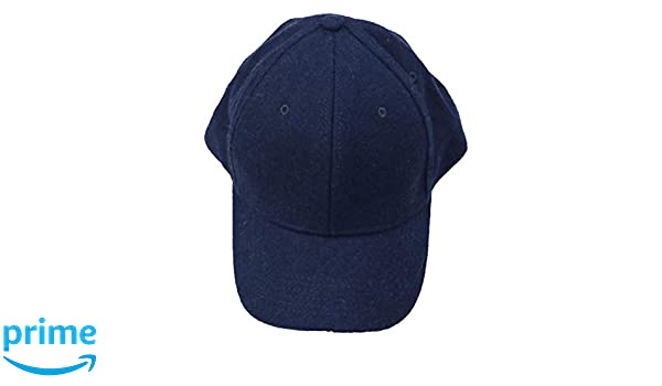 76668990a Gents Exclusive Varsity 2 Wool Adjustable Baseball Cap (Navy, One ...
