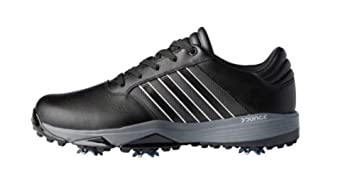 super popular 8dee6 f5962 adidas Mens 360 Bounce Golf Shoes BlackMatte Silver Size ...