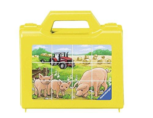 (Ravensburger Animals on The Farm Cube Puzzle (12 Piece))