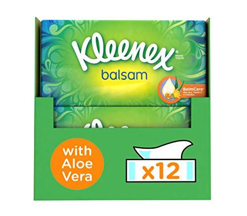 Kleenex Balsam Tissues – 864 Tissues – 12 x 72 Stuks – Voordeelverpakking