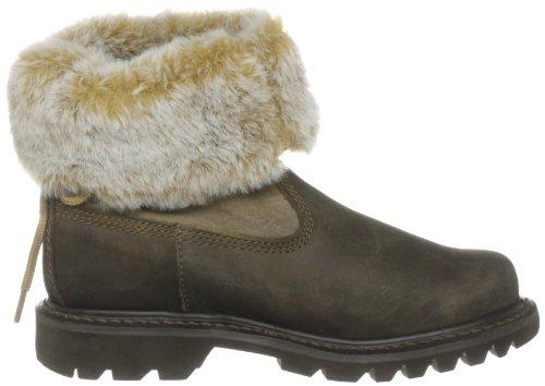 Caterpillar CAT Footwear Women's Bruiser Scrunch Nubuck Ankle Boots Beaned lZDWS