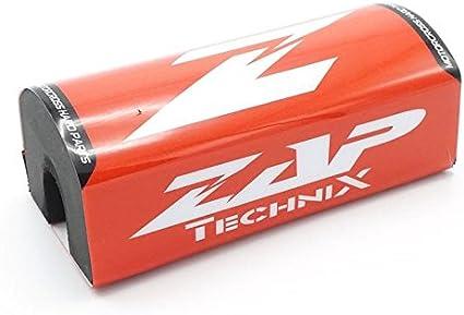 Zap Motocross Enduro Lenkerpolster Fx Rot Weiß Fatbar 28 6mm Auto
