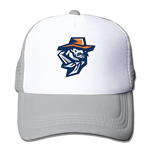 Raider Mascot Costume (ACMIRAN University Of UTEP Miners Funny Cap One Size Ash)