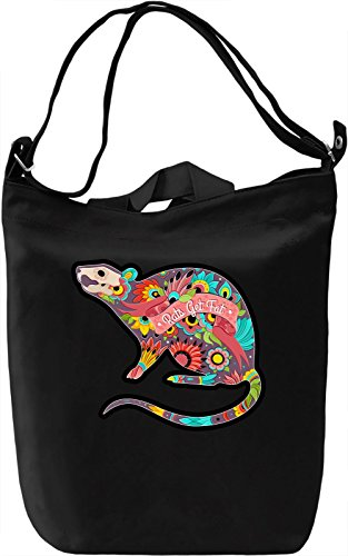 Rats get fat Borsa Giornaliera Canvas Canvas Day Bag| 100% Premium Cotton Canvas| DTG Printing|