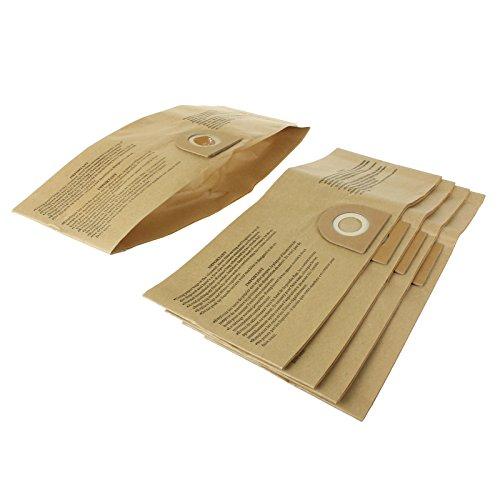Qualtex sacs à poussière en Papier pour aspirateur Compatible avec aspirateur Vax Lot de 5