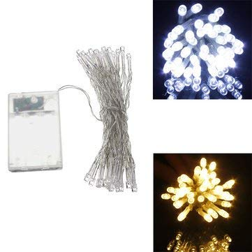 Bumatech Lights & Lighting - Aa Battery Mini 10 Leds Cool/Warm White Christmas String Fairy Lights - Fairy Lights Battery Operated String Mini Costumes Powered