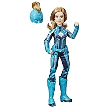 Marvel Captain Marvel Captain Marvel (Starforce) Super Hero Doll with Helmet Accessory (Ages 6 and up)