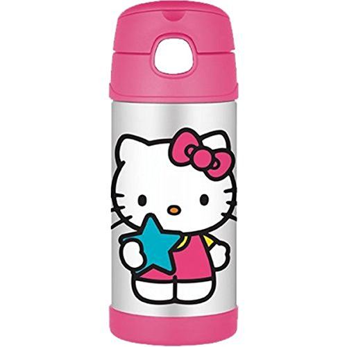 Thermos Funtainer Bottle Hello Kitty