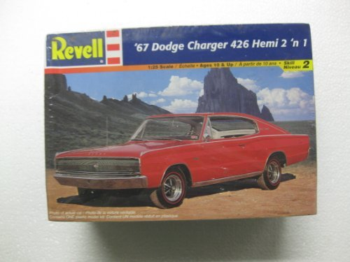 Revell 1/25 Scale '67 Dodge Charger 426 Hemi 2 'n 1