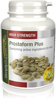High Strength Prostaform Plus | Prostate Health | 180 Capsules | 100% money back guarantee | Manufactured in the UK For Sale
