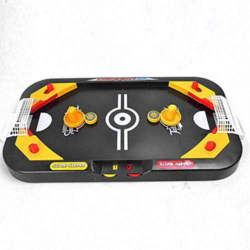 Belegend 2 in 1 Mini Hockey Soccer Game Arcade Style Ice Hockey Table Play Family Interactive Sports Kids Fun Toy Gifts
