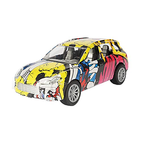 Kanzd Graffiti Remote Control RC Cars 1/18 High Power Headlight Cars Toys Kids Gift (B) - Toy Headlight