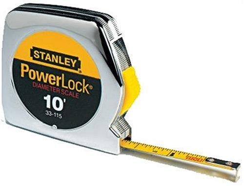 Stanley 33-115 10-Foot-by-1/4-Inch PowerLock Pocket Tape Rule