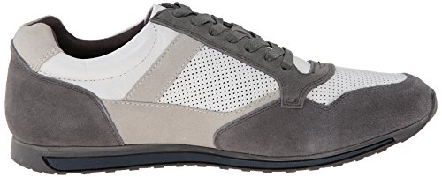 Kenneth Cole New York Mens Ne Peux Pas Le Manquer Baskets Mode Blanc / Gris