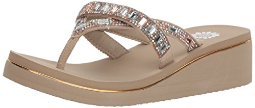 Women's Sandal Taupe Alanna Yellow Box XqFH55