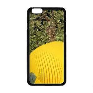Bright Fish Black Phone Case for Iphone6 plus