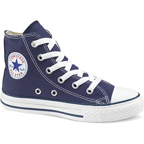 Converse All Star Hi Youth Shoes - Navy - UK 2 -
