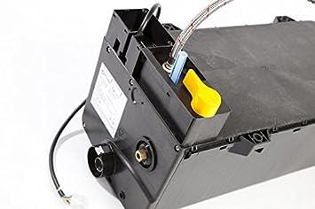 Ballena extensión 8 litros interior placa calentador de agua eléctrico y Gas