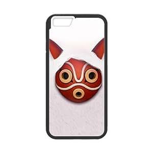 iphone6s 4.7 inch case , Princess Mononoke iphone6s 4.7 inch Cell phone case Black-YYTFG-22252
