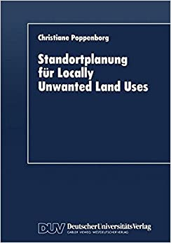Standortplanung für Locally Unwanted Land Uses