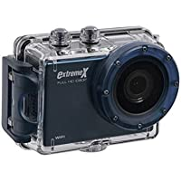 MiGear Extreme X Explorer 1080p Action Camera Bundle with Waterproof Case Blue
