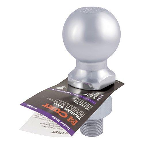 Curt Manufacturing 40005 Trailer Ball Silver