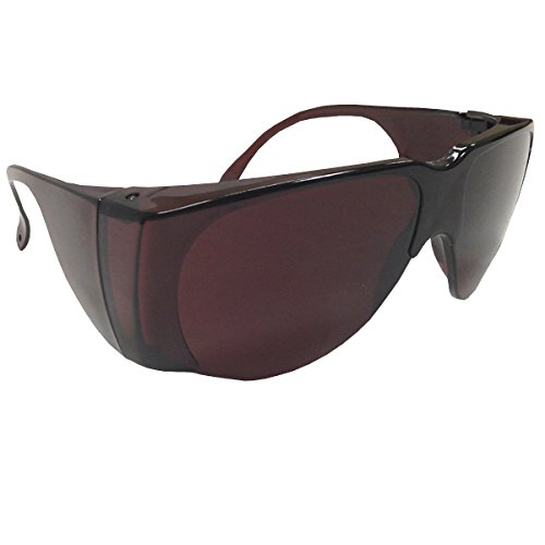 NoIR Sunglasses: Fit Over Prescription Eyewear - U80 Dark Plum - Reduces - Sunglasses Noir