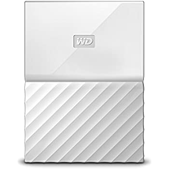 WD 2TB White My Passport Portable External Hard Drive - USB 3.0 - WDBYFT0020BWT-WESN